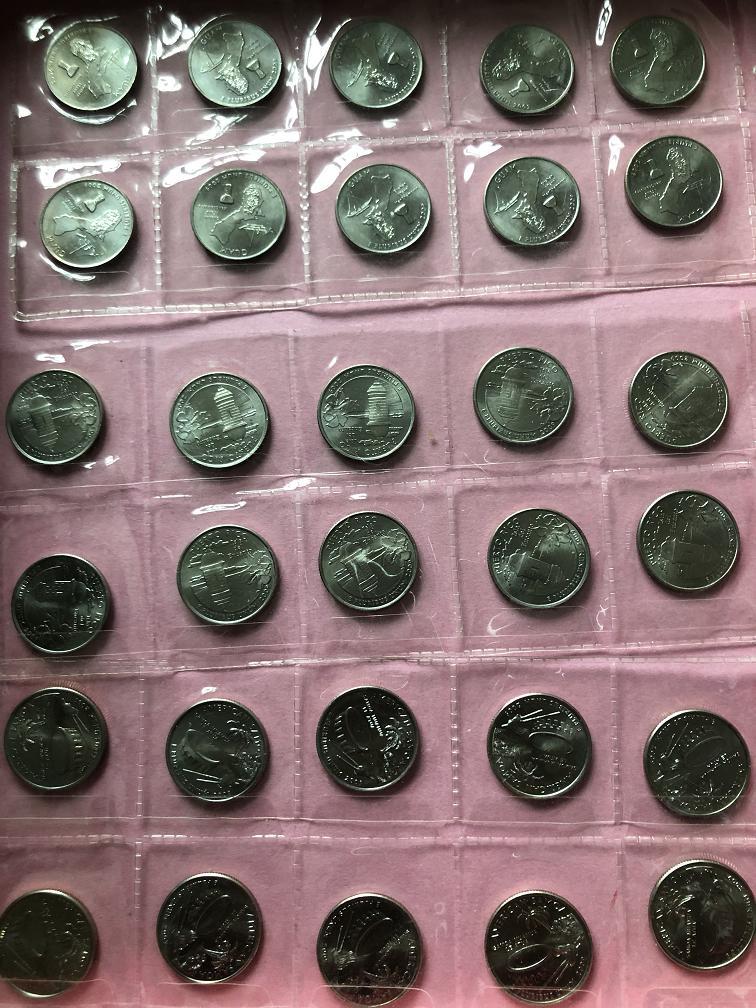 400出10套美国州币(六个附属领地)[中国投资资
